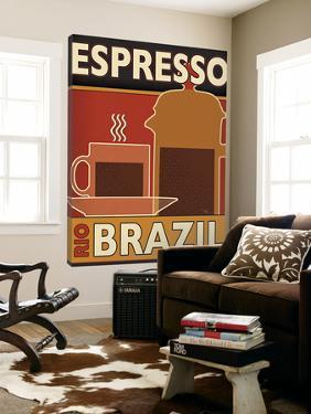 Deco Coffee I by Pela Design