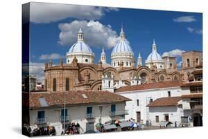 Cathedral of the Immaculate Conception, Built in 1885, Cuenca, Ecuador by Peter Adams