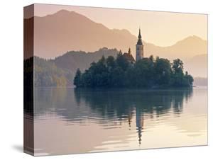 Lake Bled, Gorenjska, Slovenia by Peter Adams