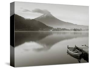 Mt. Fuji and Lake Kawaguchi, Kansai Region, Honshu, Japan by Peter Adams