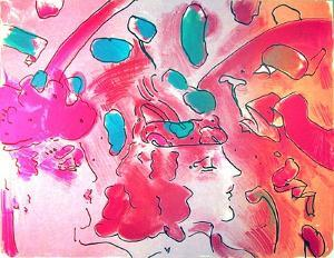 Reflections II by Peter Max