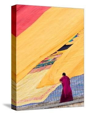 Labrang Monastery Monk, Xiahe, Gansu Province, China by Philip Kramer