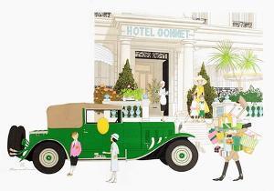 Hôtel Gonnet à Cannes by Philippe Noyer