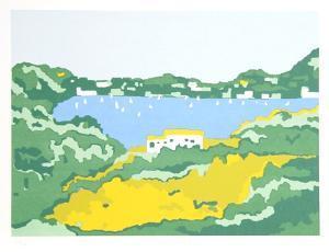 Grecian Coast II by Phyllis Sussman