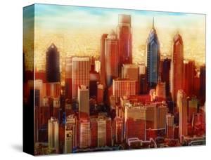 Philadelphia Skyline by PI Studio