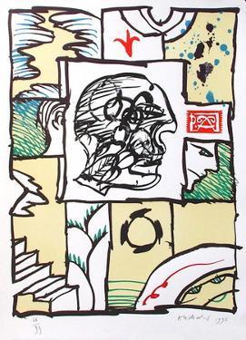 Constante by Pierre Alechinsky