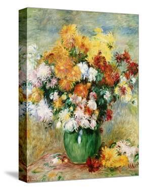 Bouquet of Chrysanthemums, circa 1884 by Pierre-Auguste Renoir