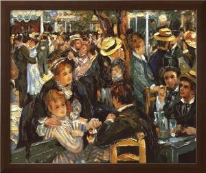 Le Moulin de la Galette by Pierre-Auguste Renoir