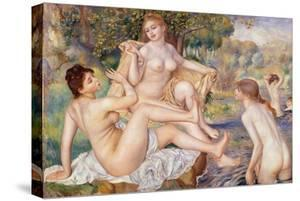 The Large Bathers, 1884-1887 by Pierre-Auguste Renoir