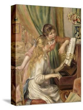 Young Girls at the Piano, 1892 by Pierre-Auguste Renoir