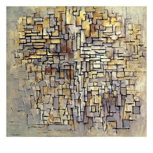 Mondrian: Composition, 1913 by Piet Mondrian