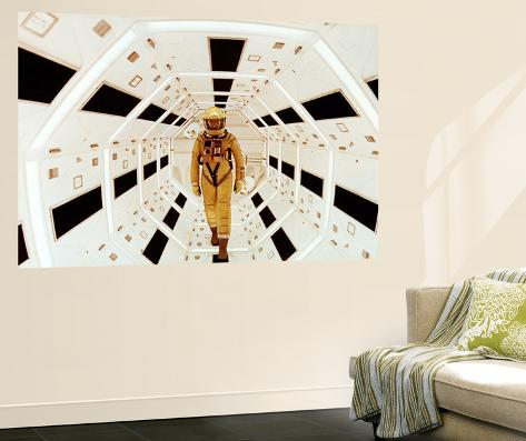 2001: A Space Odyssey Directed by Stanley Kubrick Avec Gary Lockwood Veggmaleri