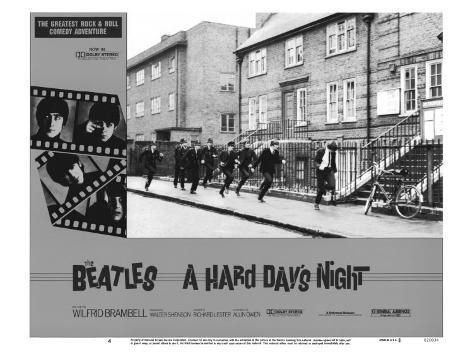 A Hard Day's Night, 1964, på engelsk Anden