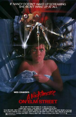 A Nightmare on Elm Street Mestertrykk