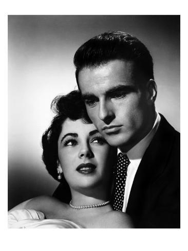 A Place in the Sun, Elizabeth Taylor, Montgomery Clift, 1951 Foto