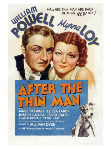 After the Thin Man, 1936 Kunsttryk