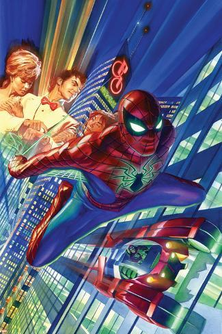 Amazing Spider-Man #1 Cover Plakat