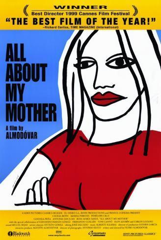 Alt om min mor, på engelsk Masterprint