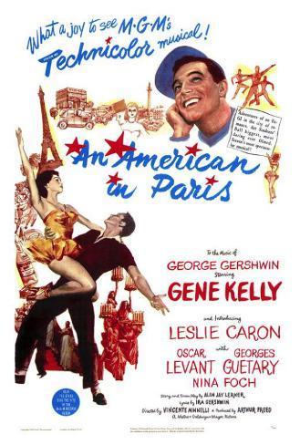 An American in Paris Plakat
