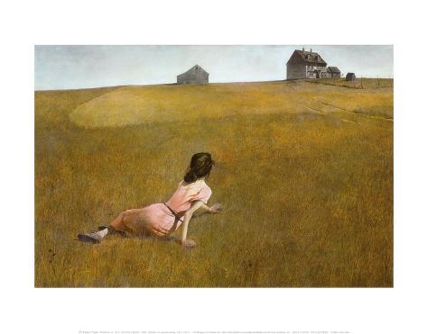 Christina's World, 1948 Kunsttryk