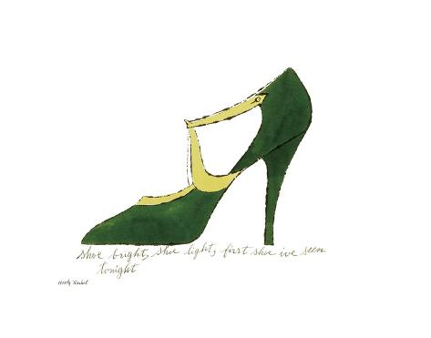 Shoe Bright, Shoe Light, First Shoe I've Seen Tonight, 1955 Kunsttryk