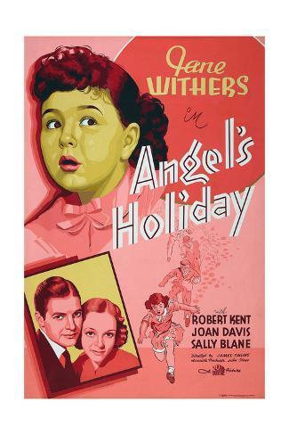 Angel's Holiday Giclee-trykk