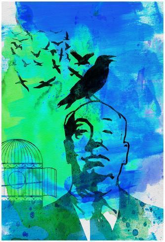 Birds Watercolor Plakat