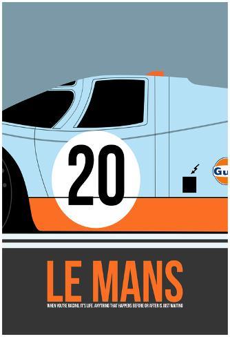 Le Mans Poster 2 Plakat