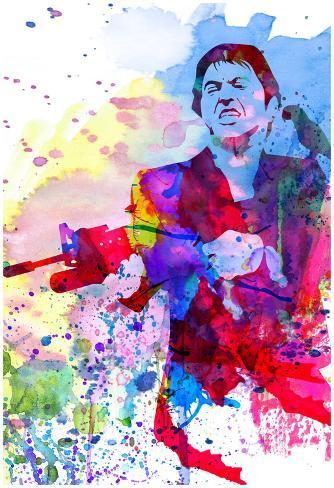 Scar Watercolor Plakat