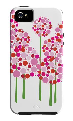 Pink Allium iPhone 5-cover