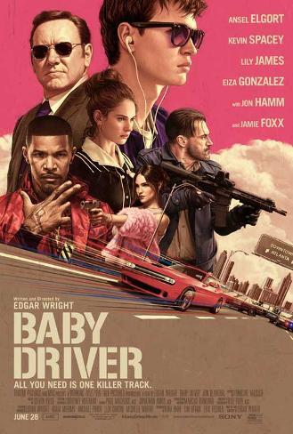 Baby Driver Plakat