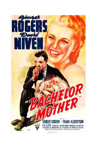 Bachelor Mother Giclee-trykk