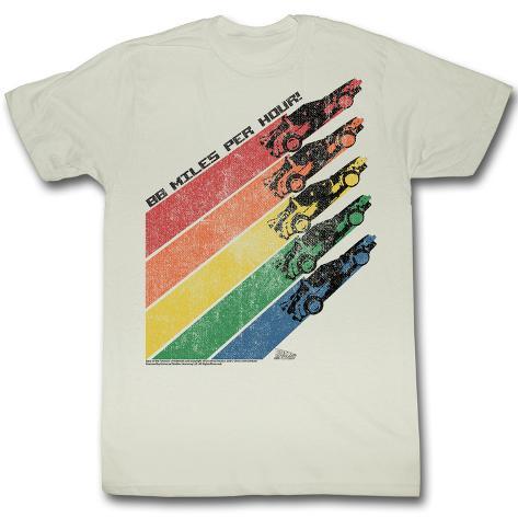 Back To The Future - Rainbow T-skjorte