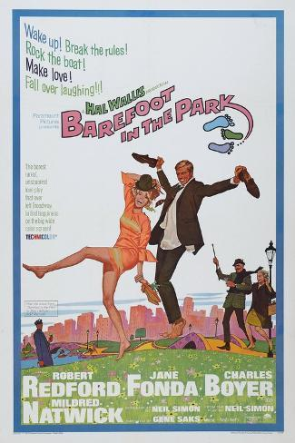 Barefoot in the Park, 1967 Giclee-trykk