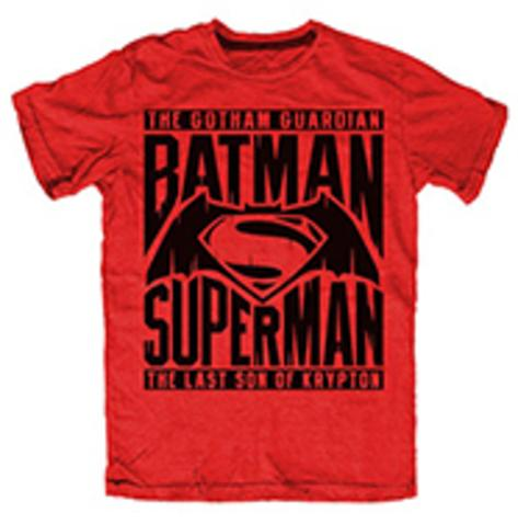 Batman v Superman- Battle of Heroes T-Shirt