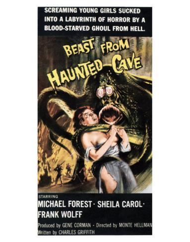 Beast From Haunted Cave - 1960 III Giclee-trykk