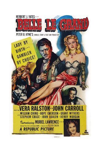 Belle Le Grand, 1951 Kunsttryk