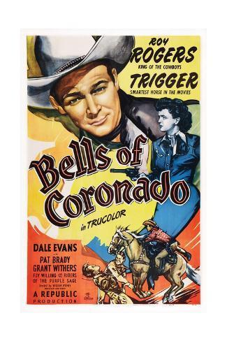 Bells of Coronado, 1942 Giclée-tryk