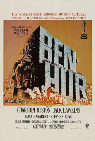 Ben-Hur Plakat