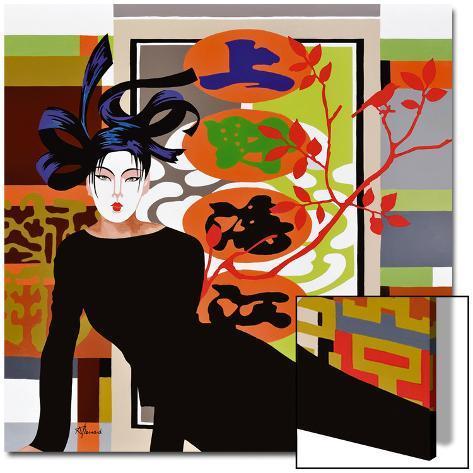 Mikado Kunst på akryl