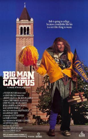 Big Man on Campus Masterprint