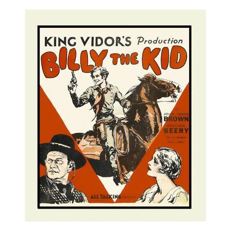 Billy the Kid Kunsttryk