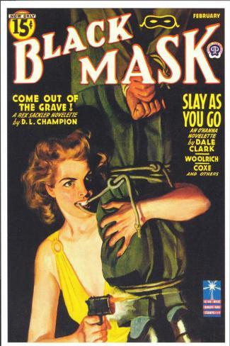 Black Mask (Pulp) Masterprint