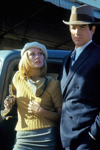 Bonnie and Clyde 1967 Directed by Arthur Penn Faye Dunaway and Warren Beatty Foto