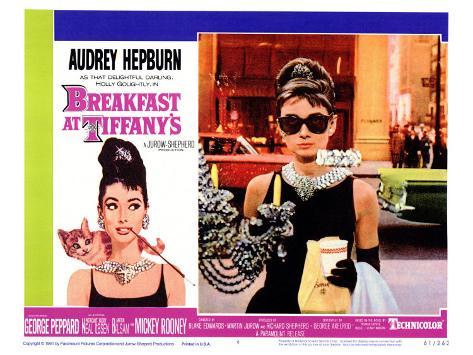 Breakfast At Tiffany's, 1961 Kunsttrykk