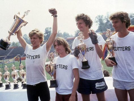 Breaking Away, Dennis Christopher, Jackie Earle Haley, Daniel Stern, Dennis Quaid, 1979 Foto