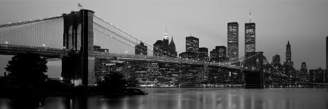 Brooklyn Bridge, Manhattan, New York City, New York State, USA Wallstickers