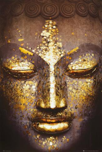 Buddha Plakat