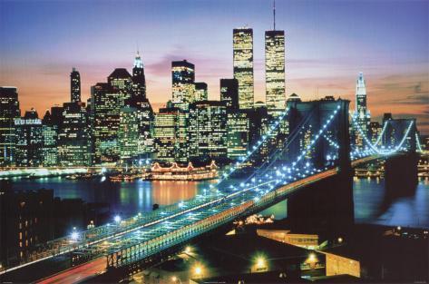 Byen som aldri sover Plakat
