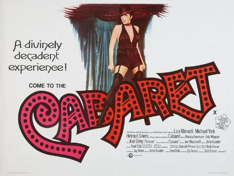 Cabaret, 1972 Giclee-trykk